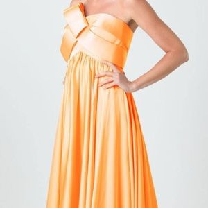 JS Strapless Gown
